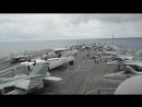 Aboard USS Reagan for Valiant Shield - Growler Take-off B-Roll GUAM 19.09.2018