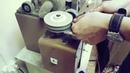 Кожаный зажим для денег на магните ручная работа