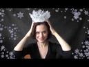 Делаем корону для снежной королевы своими руками