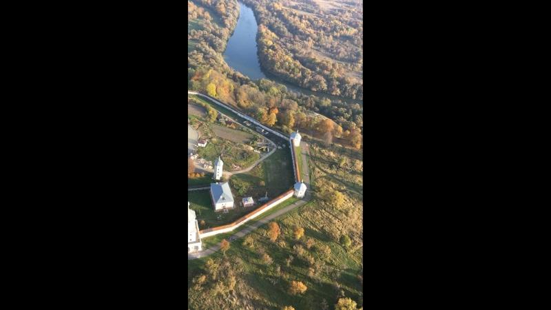 Полет над Свенским монастырем 14.10.18