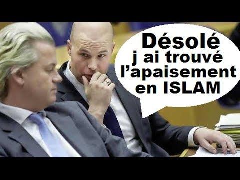 L ISLAMOPHOBE Acharné J. V. Klaveren se Converti à l Islam (Extrême Droite Pays Bas)