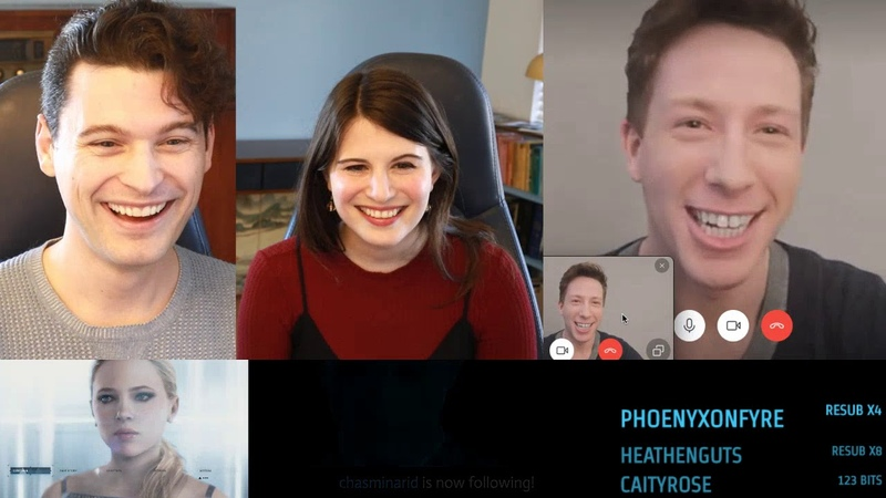 1 I'll Be Back Connor Become Dead w Detroit Actors Kristopher Bosch w Amelia and Bryan Dechart
