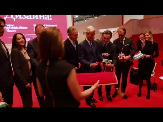 Salone del mobile.milano moscow 2018: открытие выставки