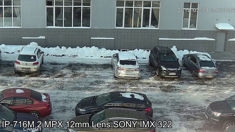 SSDCAM IP видеокамера IP-716M, 2.1Мп, SONY Exmor IMX323, объектив 2.8-12мм