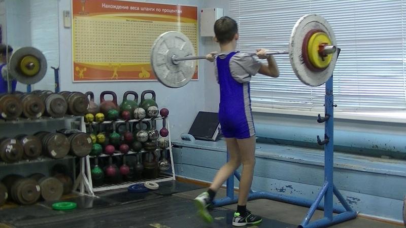 Шумихин Артур, 12 лет вк 33 кг Присед Толчок 28 кг 4 подх