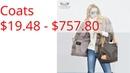 Coats $19.48 - $757.80