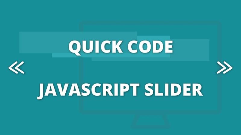 Quick Code - Javascript Slider