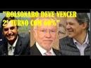 Bolsonaro deve vencer Haddad com 60 dos votos diz Alexandre Garcia