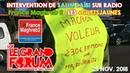 Intervention de Laïbi Salim sur France Maghreb 2 concernant les Gilets Jaunes