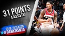 Bradley Beal Full Highlights 2019 02 27 Wizards vs Nets 31 Pts 4 Assists FreeDawkins