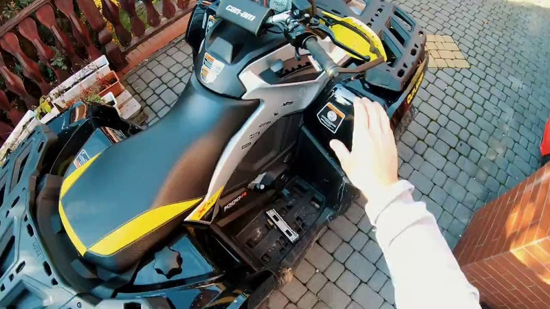 Can-am Outlander 1000 Xxc 2018 Autumn trip by GoPro 7