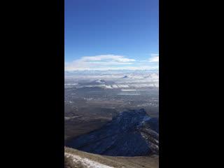 гора Бештау 1400 метров над уровнем моря