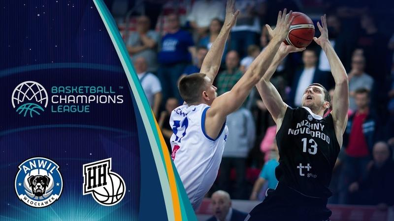 Anwil v Nizhny Novgorod - Highlights - Basketball Champions League