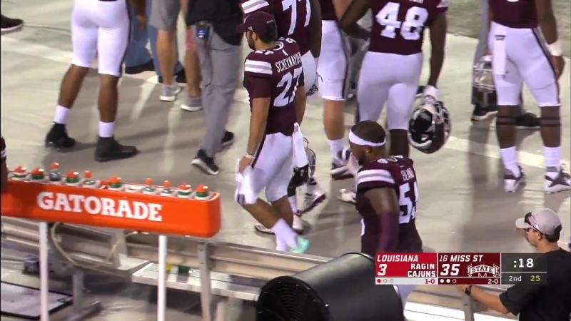 NCAAF 2018 Week 03 Louisiana at Mississippi State