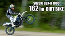 SUZUKI GSX-R Dirt Bike 1000cc - OFF ROAD test ride