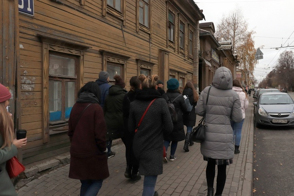 Сходили на экскурсию с Димой Четыре, довольно много народу.  5 ноября 2018