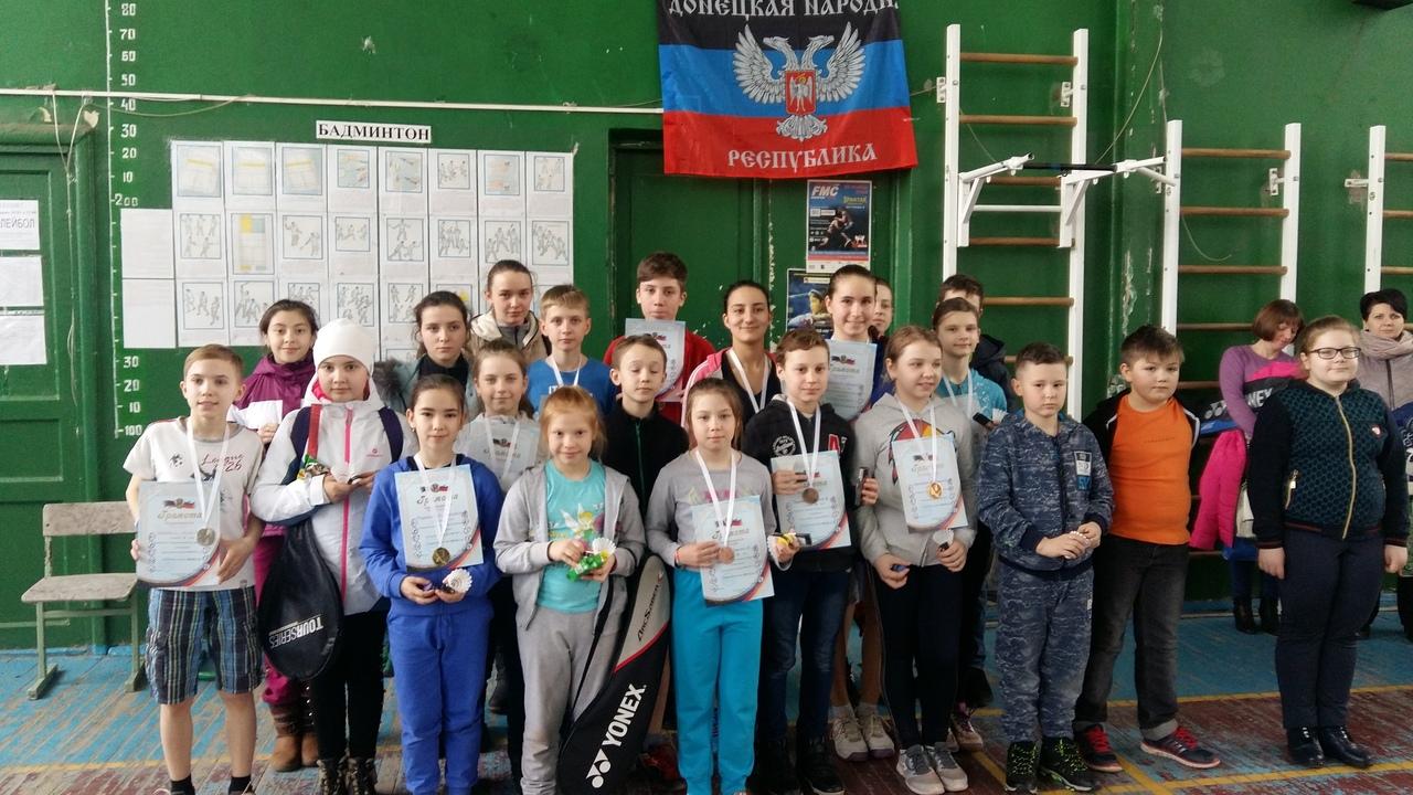 В Донецке прошли соревнования по бадминтону
