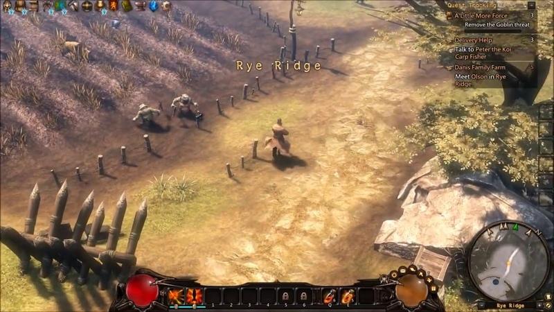 Guardians of Ember — создание персонажа и первые 15 минут геймплея