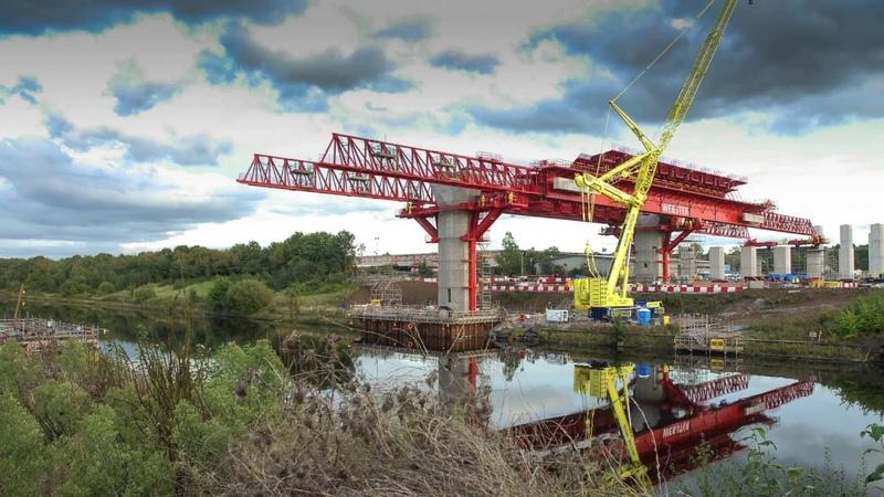Mersey Gateway - launching the Runcorn MSS Webster