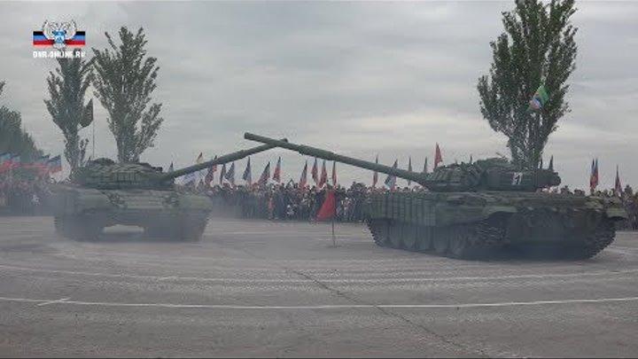 На Саур-Могиле прошел «танковый вальс»