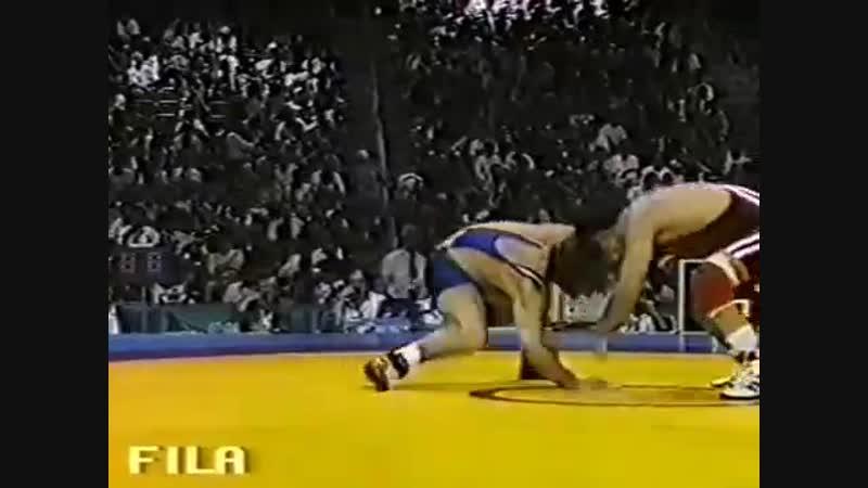 ОИ-1996 57 кг АРТУР ФЕДОРОВ (Казахстан-САХА)-Багаутдин Умаханов (Россия)