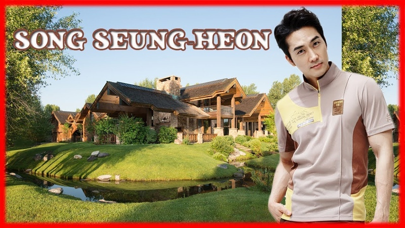Song Seung-heon (송승헌)s New House Net Worth - 2018 [Outside And Inside]