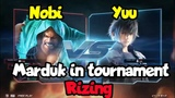 Nobi (Marduk) vs Yuu (Noctis)