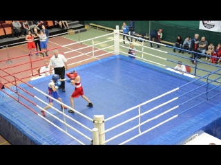 Бой с турнира по боксу среди девушек г.Орёл