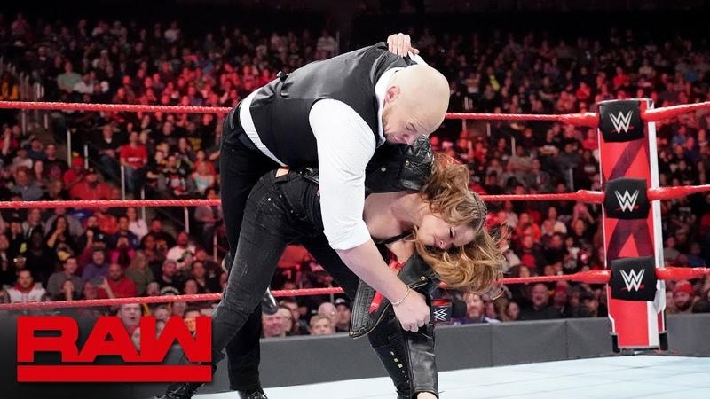 The «Jean»: Ronda Rousey drops Baron Corbin: Raw, Nov. 12, 2018