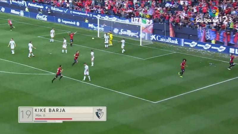 CA Осасуна - Кордова CF, 3-1, Сегунда 2018-2019, 9 тур
