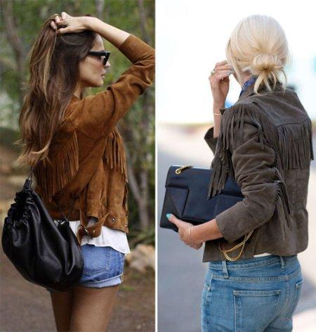Замшевая куртка: с чем носить