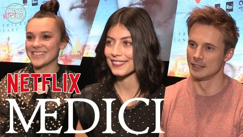 Medici: The Magnificent - Alessandra Mastronardi, Synnøve Karlsen Bradley James Interviews
