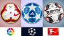 Official Balls Of The Best Football Leagues II 2018 - 19 II
