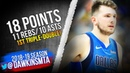 Luka Doncic 1st NBA Triple Double 2019 01 21 Mavs vs Bucks 18 Pts 11 Rebs 10 Asts FreeDawkins
