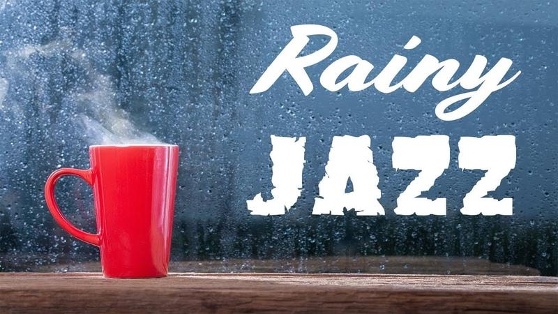 🔴 Relaxing Rainy Jazz - Lounge Jazz Radio - Music For Work Study - Live Stream 24/7