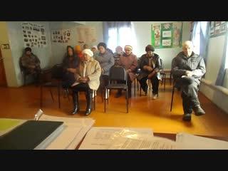 ППМИ-2019 Предварительное собрание граждан в д.Маломуйнаково