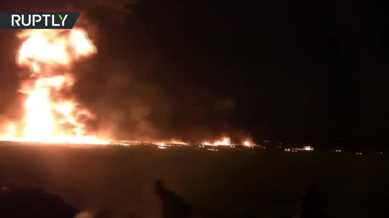 Explosion terrifiante d'un oléoduc au Mexique