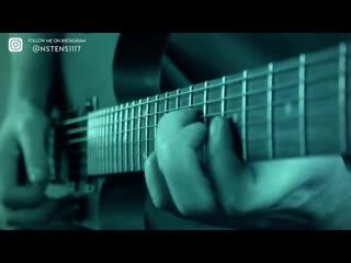 Avengers endgame trailer theme on guitar
