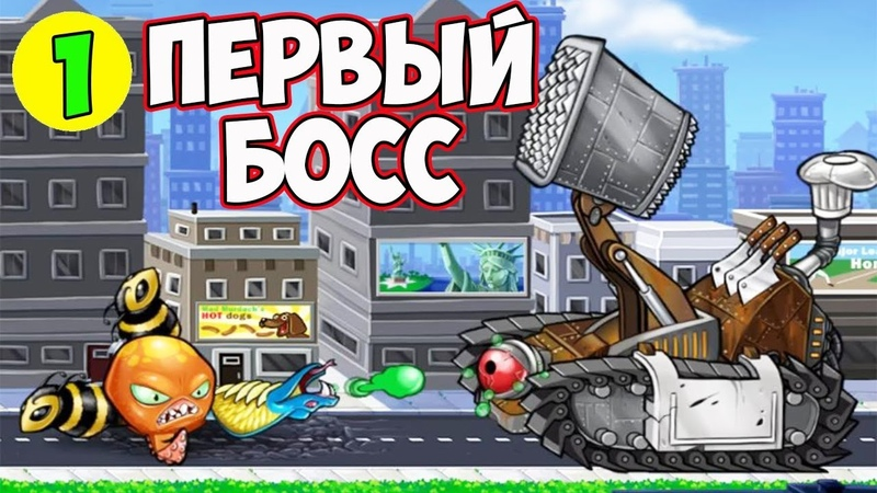 РАЗРУШИЛ СТАТУЮ СВОБОДЫ и СРАЗИЛСЯ С ГЛАВНЫМ БОССОМ! ПЕРВАЯ БИТВА в Игре Octogeddon 1
