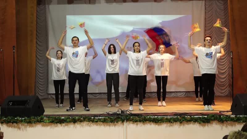 Флешмоб от волонтеров Цунами МЫ ЕДИНЫ
