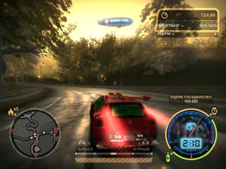 The brain against the police need for speed most wandet black edition