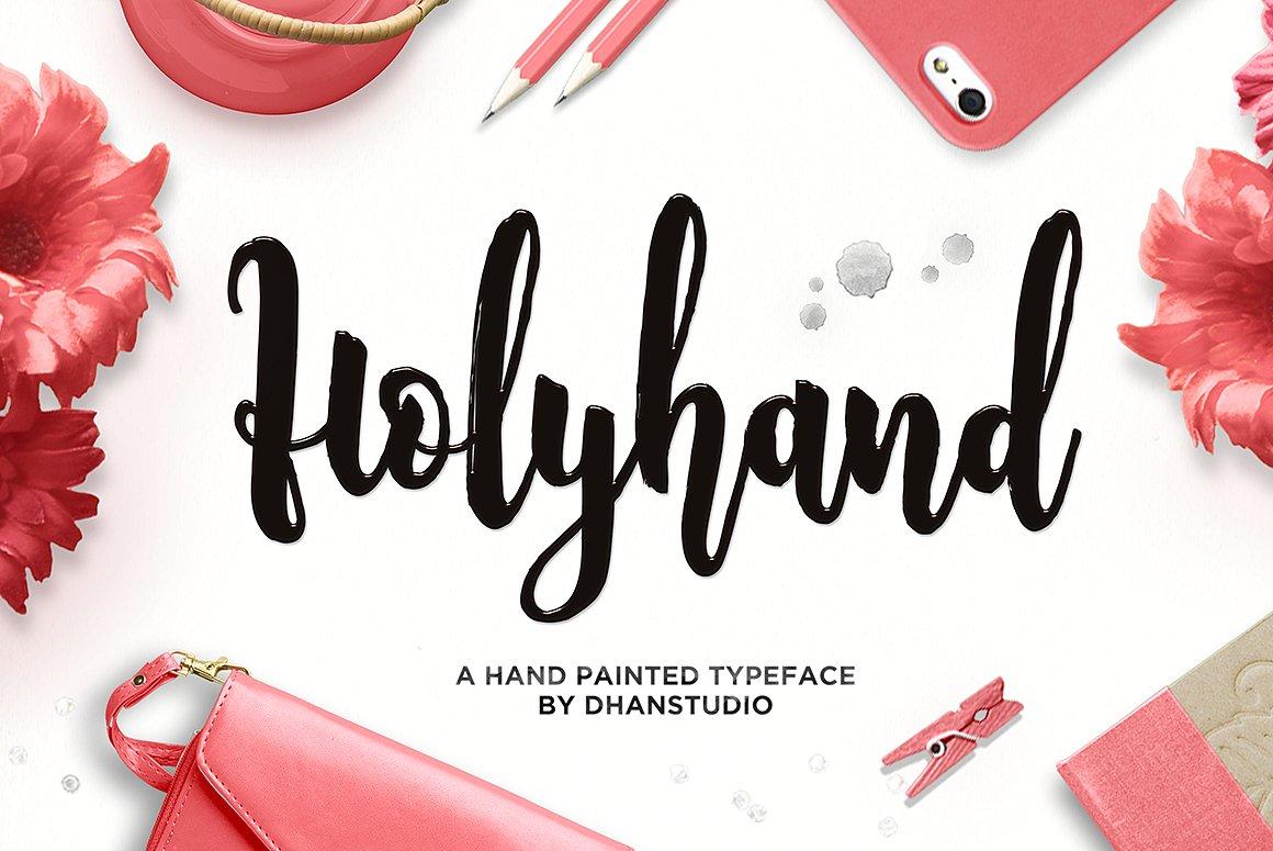 Шрифт - Holyhand