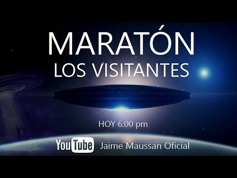 Maratón Los Visitantes con Jaime Maussan 26 de diciembre