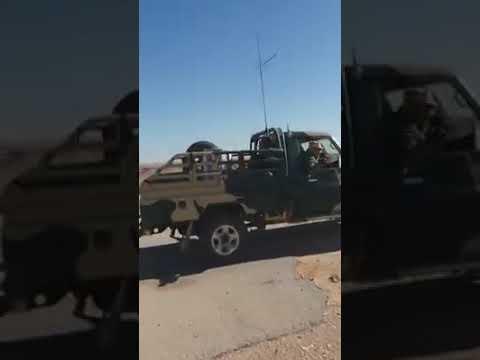 Battalion 309 Tobruk in Bin Waleed Allah Akbar