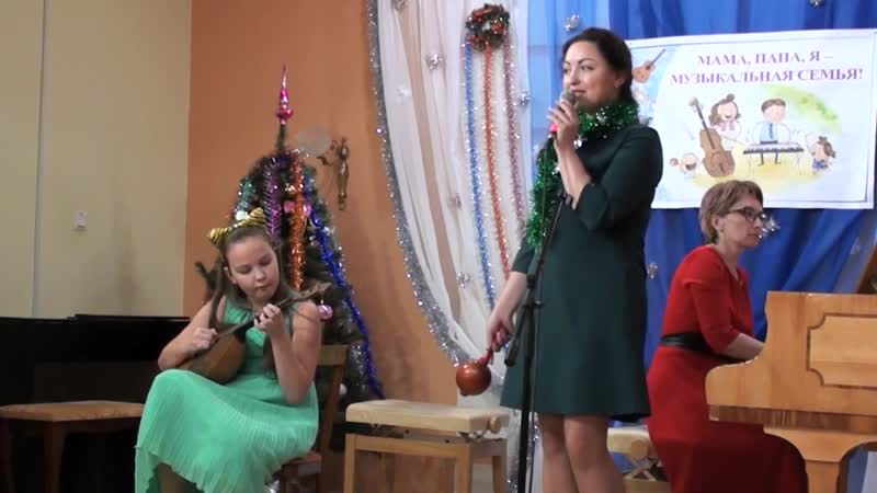 Концерт в музыкальной школе города Новодвинска 19.12.2018 г