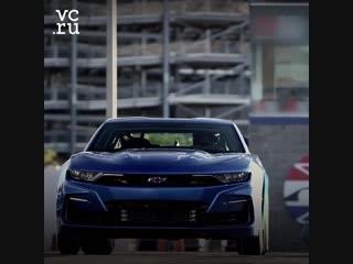Chevrolet представила прототип маслкара Camaro с электромотором