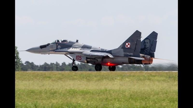 ILA 2016 - Full amazing display kpt. Adrian ROJEK MiG-29A 105 - Berlin - 04.06.2016 r.