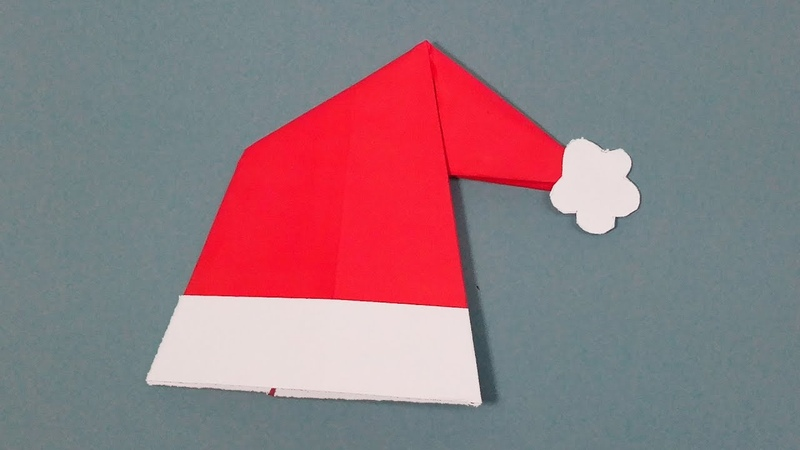 How to make DIY Christmas Santa Claus Hat - Watch and learn step by step make