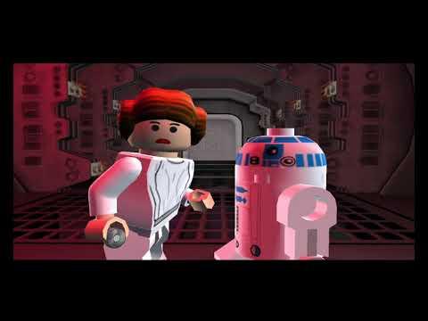 Прохождение Lego Star Wars 2 - Миссия Новая надежда