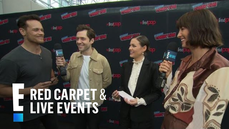 Outlander Couples Pick Their Dream Double Dates | E! Red Carpet Live Events